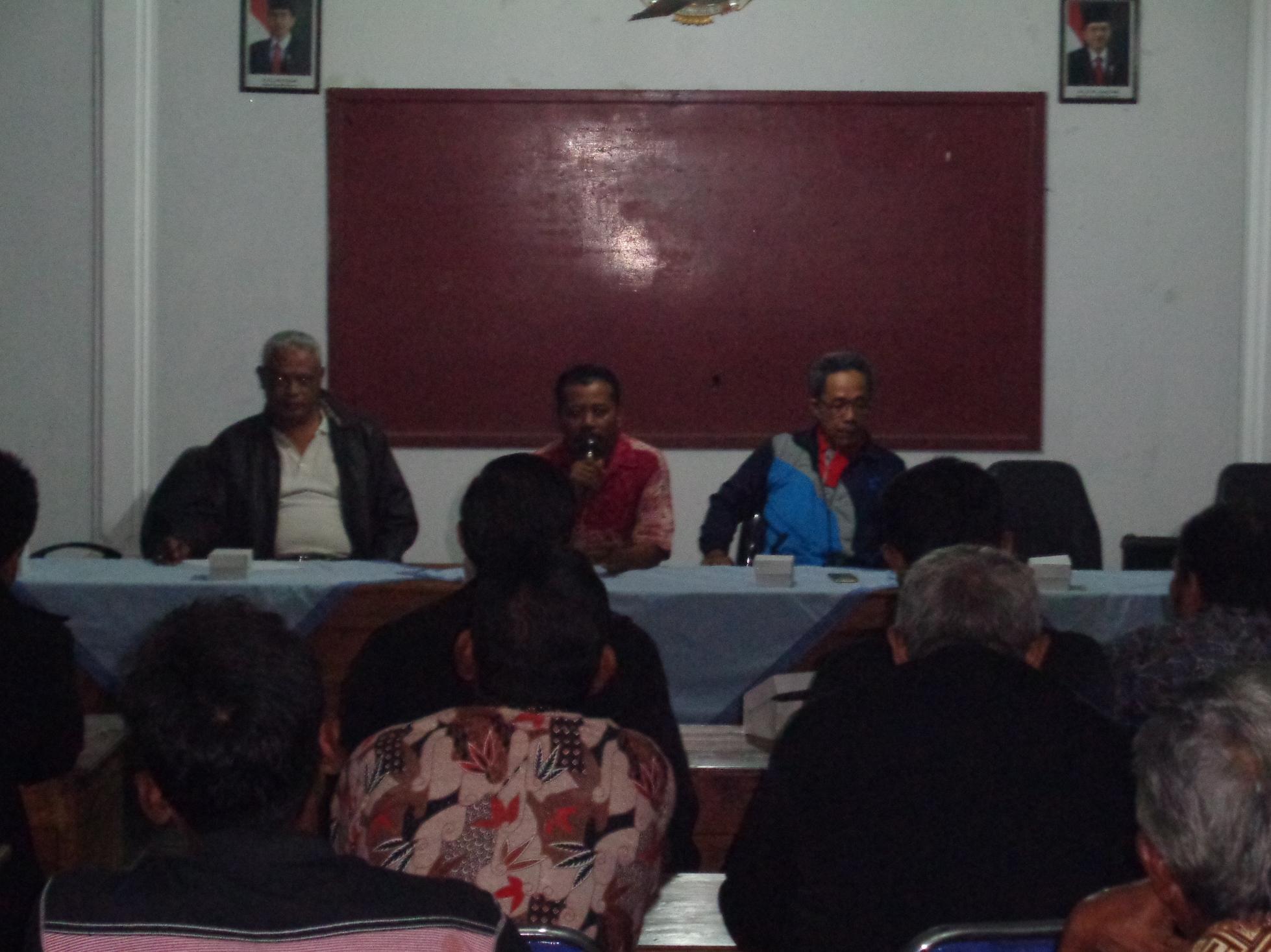 Pembentukan Panitia Pendaftaran Tanah Sistematis Lengkap (PTSL)